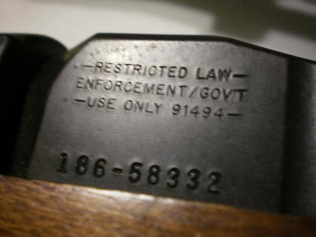 GB marking on a Mini-14
