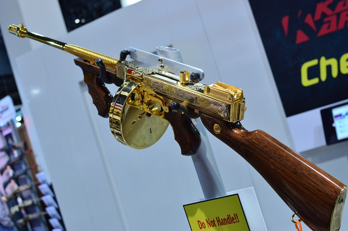 If Al Capone were a sultan, he would carry this bad boy from Kahr Arms.