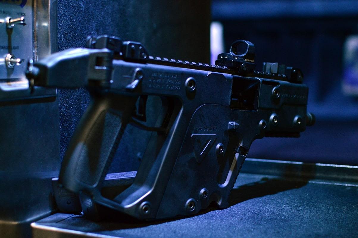 KRISS Super V comes in pistol variety.