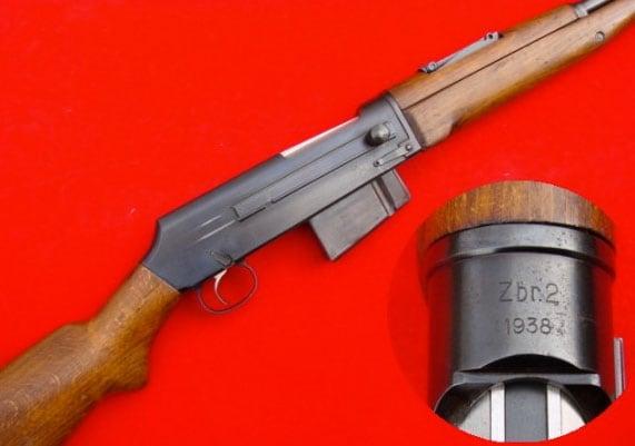 Kristopher Gasior's Kbsp wz.38M rifle