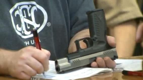 Some residents don't like the idea of the state creating even a partial database of gun owners. (Photo credit: Fox)