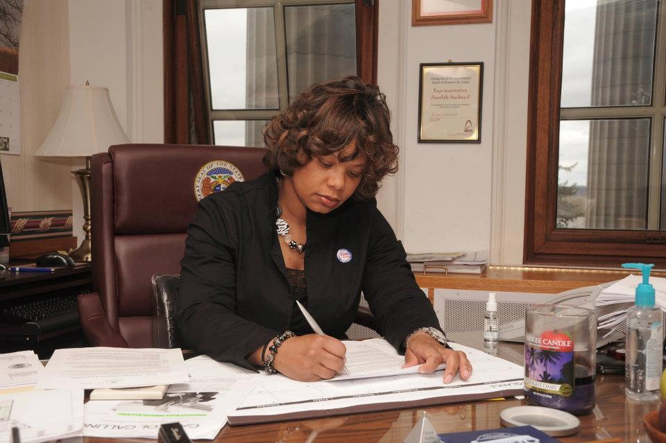 The only 'no' vote against the bill in committee came from State Sen. Jamilah Nasheed who would rather see laws aimed at decreasing urban gun violence (Photo credit: Facebook)