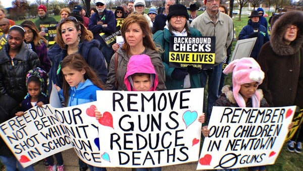 Some believe that reducing guns means reducing deaths. (Photo credit: ABC)