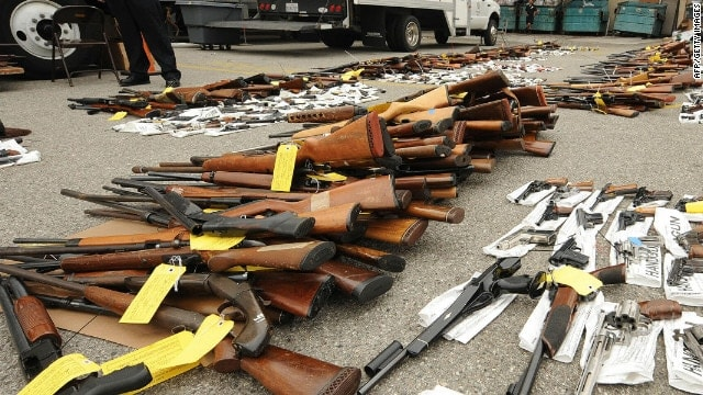 While many guns taken in at these events are broken or junk, there are some pearls in those oysters.