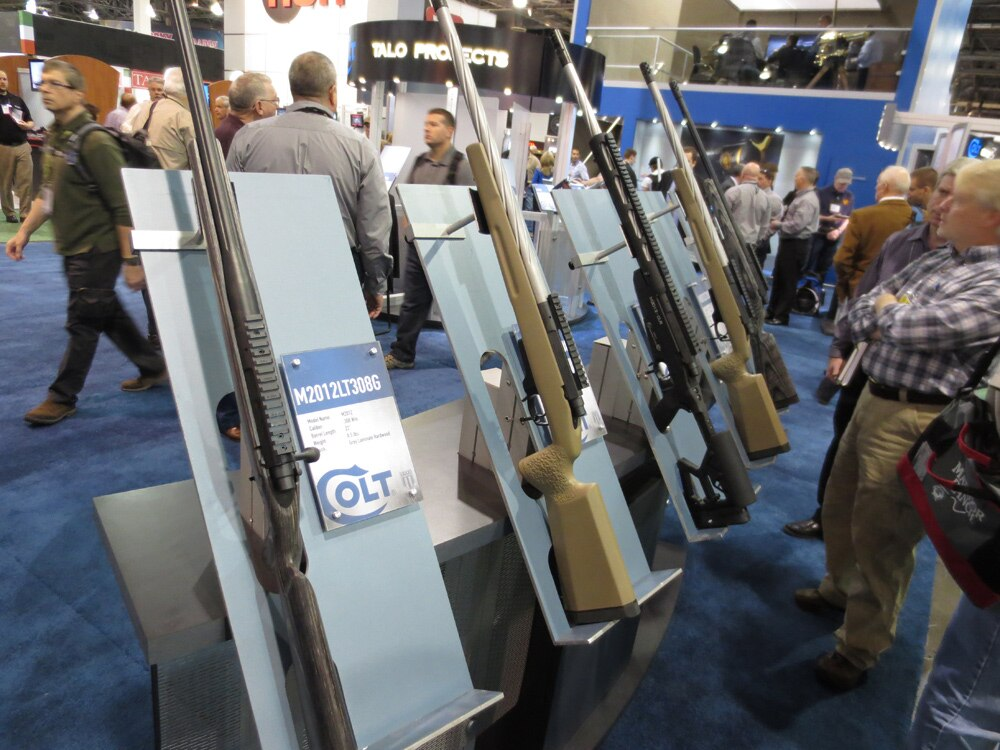 colt bolt rifles