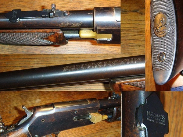 .22 caliber Colt Lightning