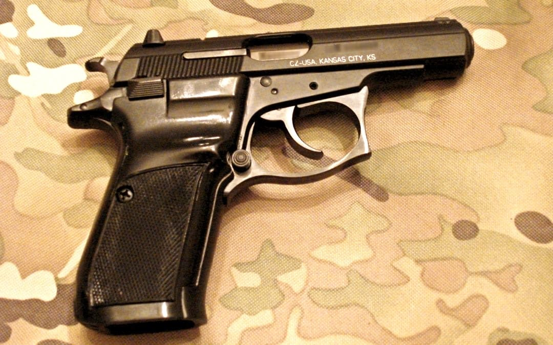 THe CZ-83, like a PPK only less expensive and more reliable. Photo Credit: Brett Kirksey