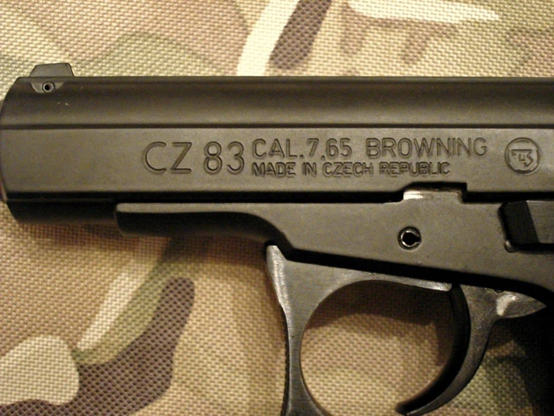 The CZ-83 packs a ton of firepower for its compact size Photo Credit: Accuracy