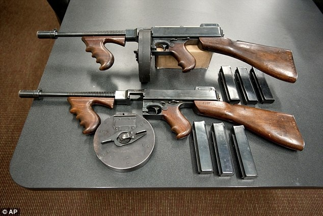 North Carolina sheriff's dept  wants to swap two Tommy guns