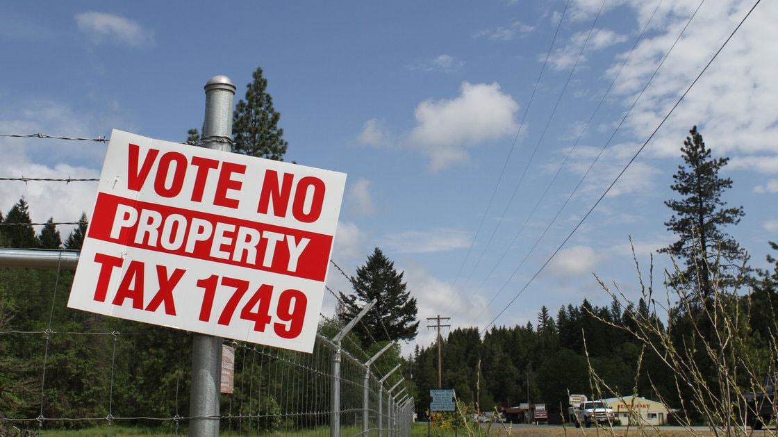 County officials proposed a tax levy in May, but residents shot down the 300 percent increase on their property taxes. (Photo credit: NPR)