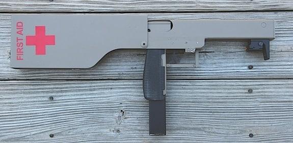 machine gun first aid kit