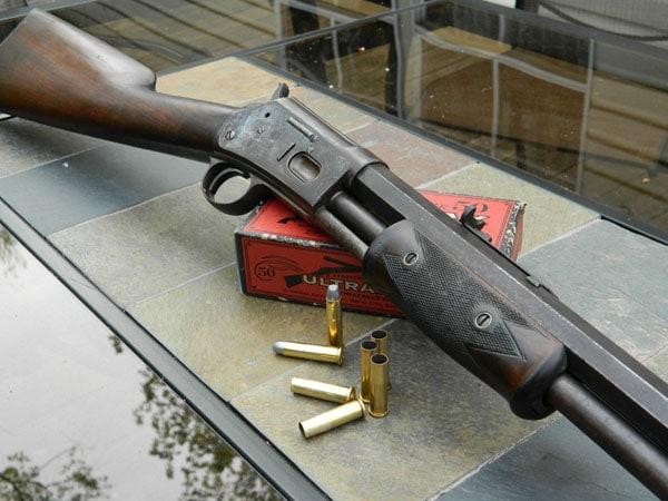 Colt Lightning rifles with black powder rounds