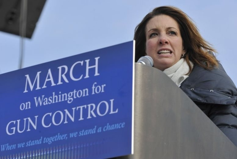 Shannon Watts, founder of Moms Demand Action for Gun Sense in America (Photo credit: Jay Mallin)