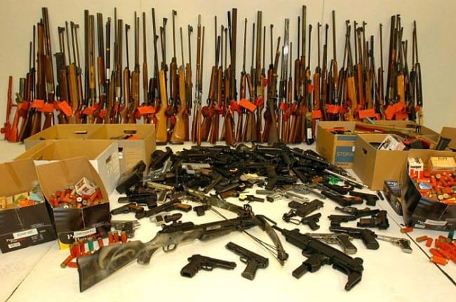 This brings the city's total of seized illegal guns upto nearly 60,000 since 2001.