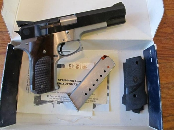 Smith and Wesson Model 745