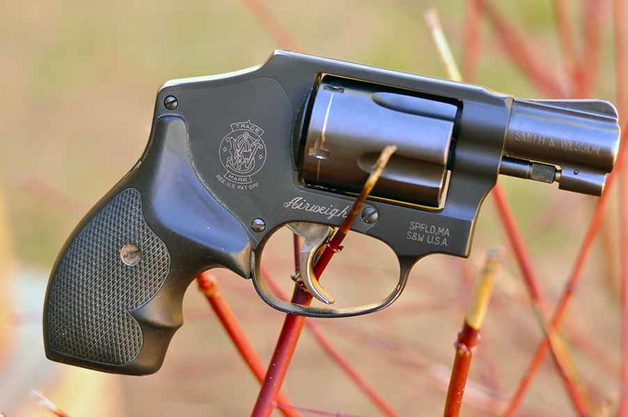 The double-action revolver, much like the Wu-Tang Clan, isn't something to muck with (Photo by: Jim Grant)