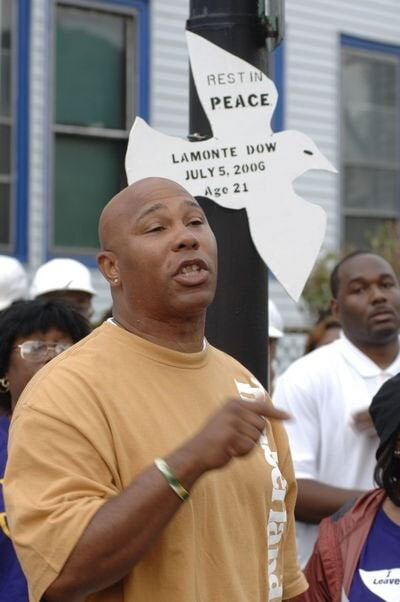 Dwayne Ferguson is well-known for his community involvement, advocating for at-risk youth and participating in multiple anti-violence programs. (Photo credit: Buffalo News)