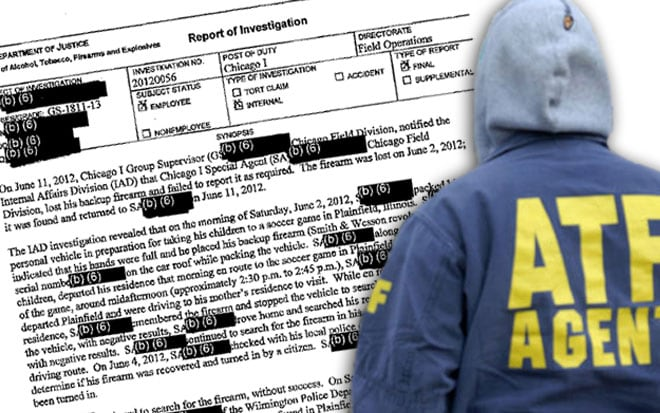 Even with some of the details blacked out, the report still had enough information to cause some concern. (Photo credit: The Journal Sentinel)