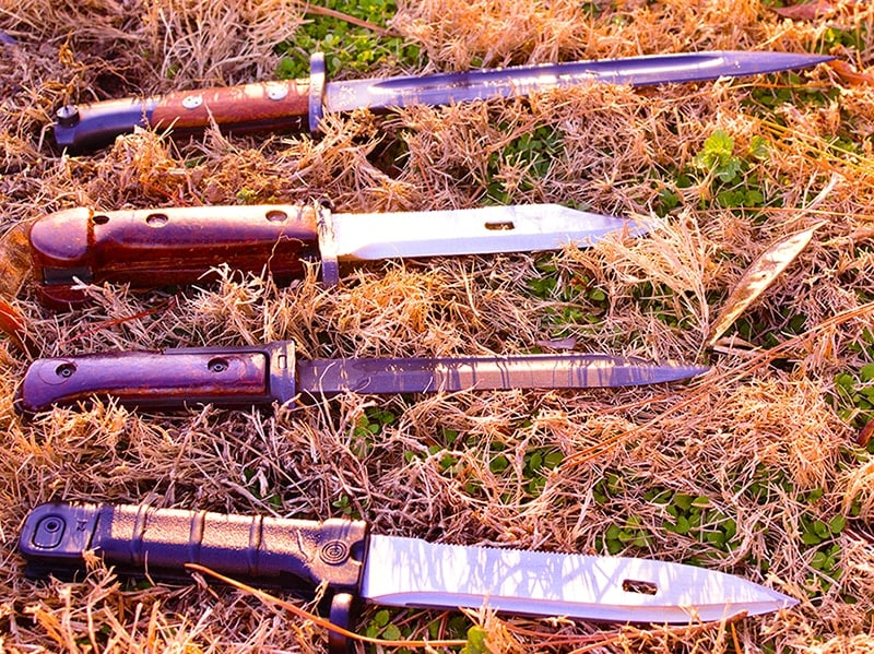 Bayonets for everyone! (Photo by: Jim Grant)