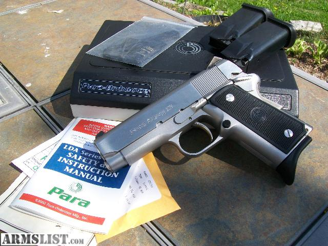 Para's CCW options have smooth exteriors but sharp looks. (Photo Credit: ArmsList)
