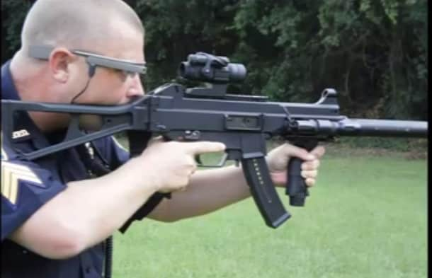Officers have even tested Google Glass in live fire on the range.