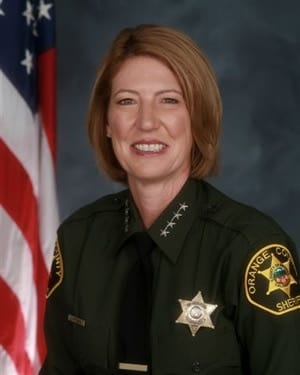 Orange County Sheriff-Coroner Sandra Hutchens's office is taking heat from gun control groups following her decision to accept self-defense as good cause after the Peruta decision. (Photo credit: Orange County Sheriff's Department)