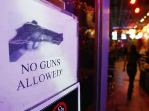 S.308 will allow the carry of guns in establishments that serve alcohol provided the CWP holder does not consume any and no signs are posted to prohibit it. (Photo credit: AP)