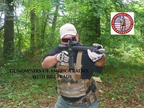 Bill Frady of Lock N Load Radio, presented by Gun Owners of America. (Photo credit: Bill Frady)