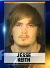 Jesse Keith is accused of stealing from his own neighbors. (Photo credit: WSOCTV)