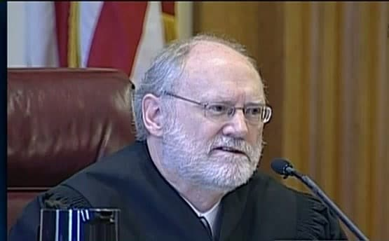 "Judge Sidney R. Thomas dissented from the decision, citing it, ""upends the entire California firearm regulatory scheme."" (Photo credit: CSPAN)"