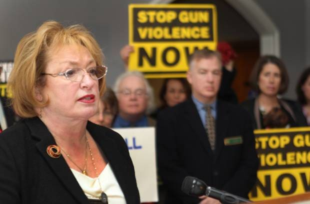 NH State Rep. Elaine Andrews-Ahearn saw her bill for near universal background checks in the state defeated Wednesday. (Photo credit: Nashua Telegraph)