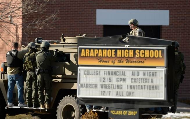 Arapahoe High School in Centennial Colorado
