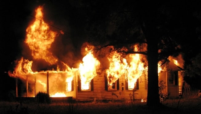 Arson rates plummeted in the FBI's report, falling some 15 percent nationwide and as much as 25 percent in some regions. (Photo credit: Columbusco.net)