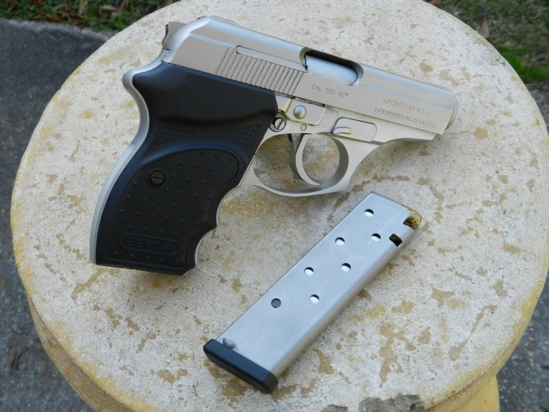 The gun in question was a Bersa, similar to the one seen in this file photo.
