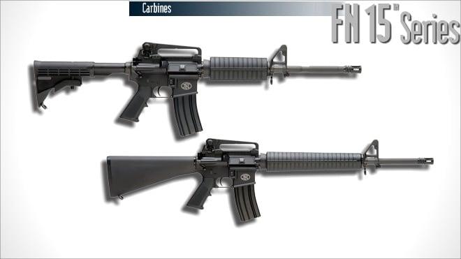 fn-15 series ar-15 rifle carbine