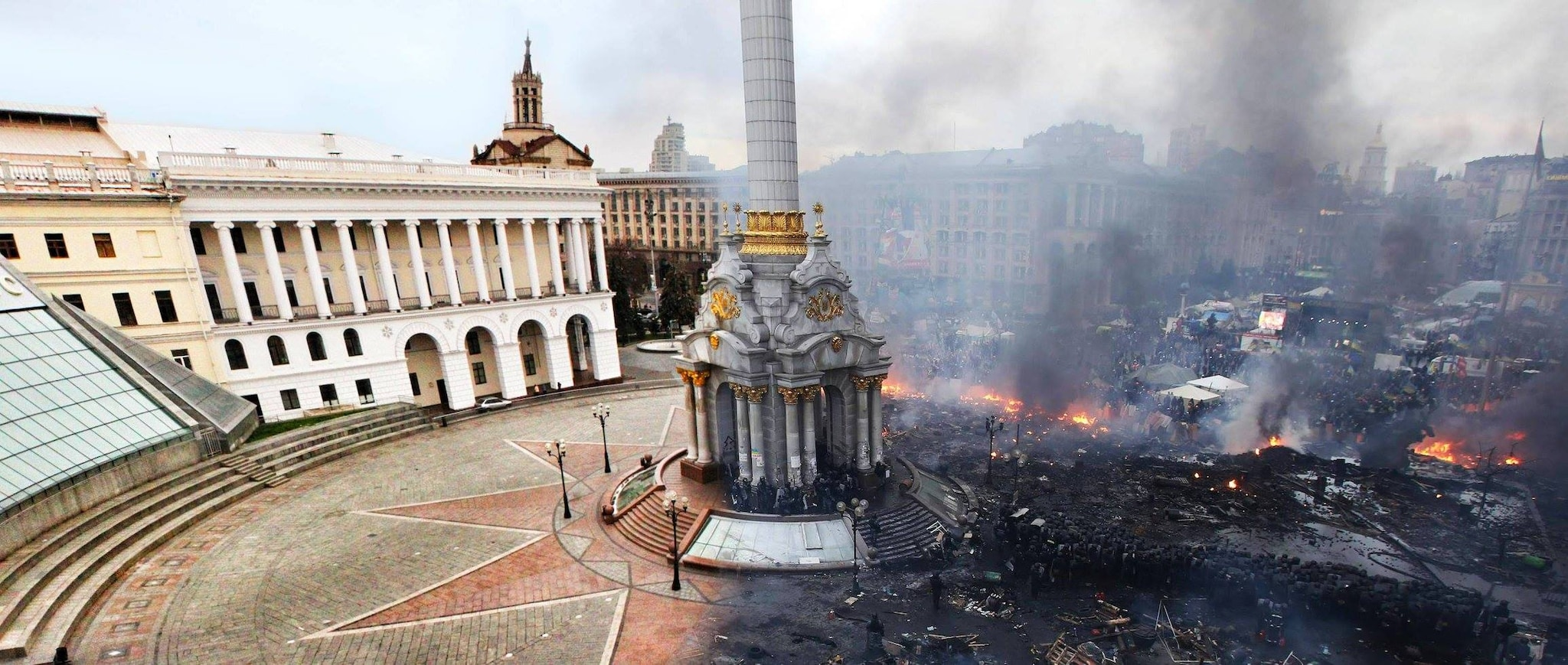 kiev ukraine before after
