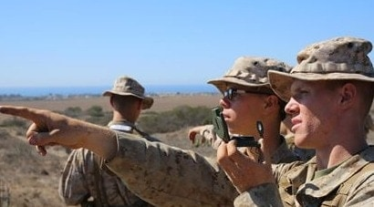 Marines, renowned for their skills at land nav, could have to spend more time searching for the Marine Corps Times in the future. (Photo credit: USMC)