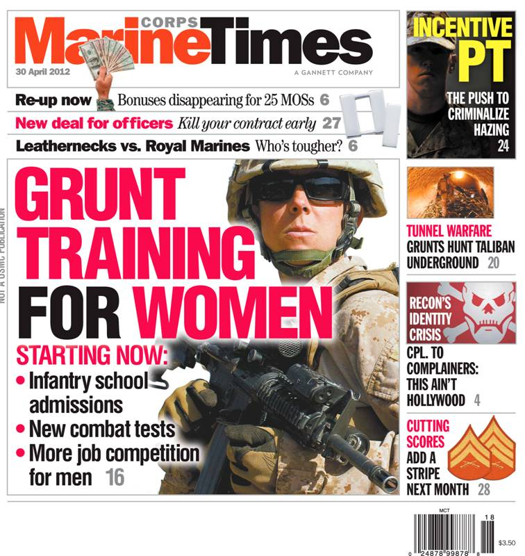 According to an exchange spokesperson, the Marine Corps Times is seen as not consistent with its 'brand'. (Photo credit: Gannett).