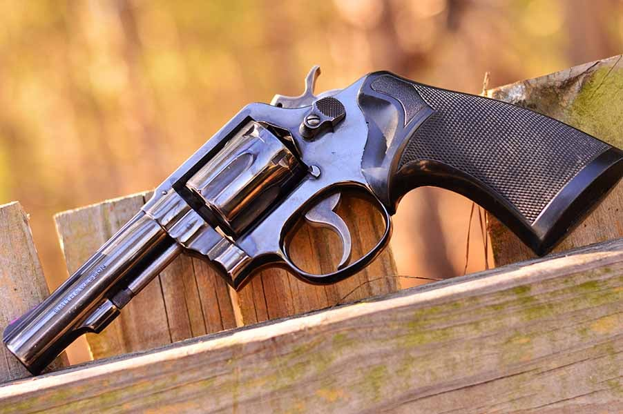 The Model 10 is one handsome six-gun. (Photo by Jim Grant)