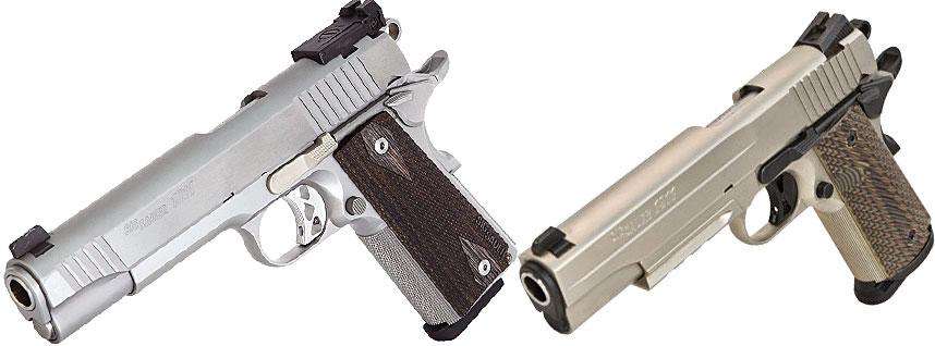new sig 1911 pistols