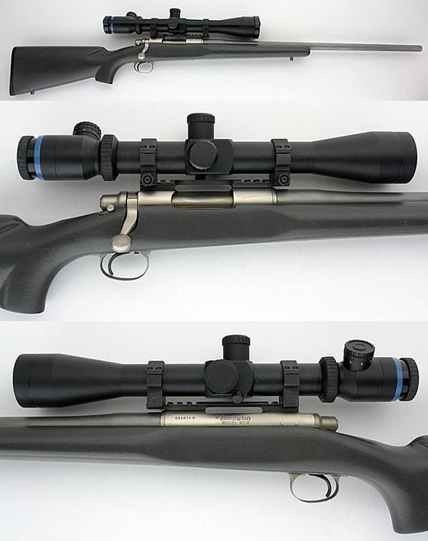 Remington Model 40x rifle