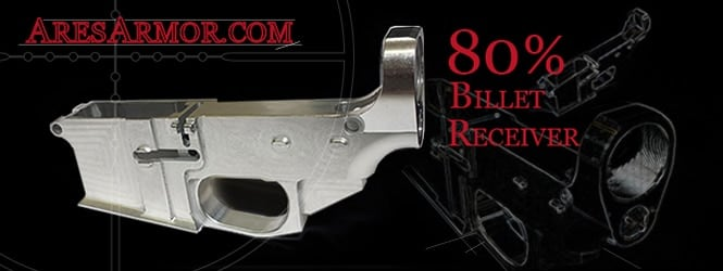 For years Ares has sold 80 percent lowers in both aluminum and polymer. (Photo credit: Ares Armor)