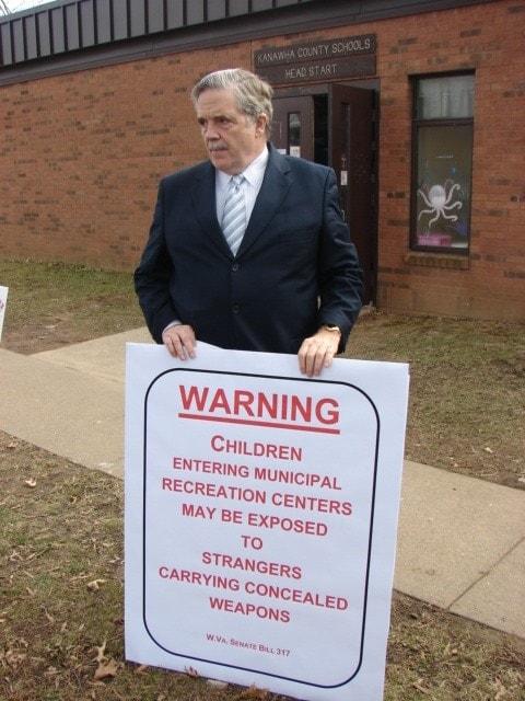 Charleston, WV Mayor Danny Jones is threatening to challenge the new law in court. (Photo credit: wvmetronews.com)