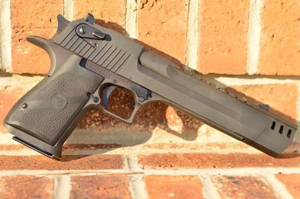The Desert Eagle doubles as a warhammer when it runs out of ammo (Photo by: Jim Grant)