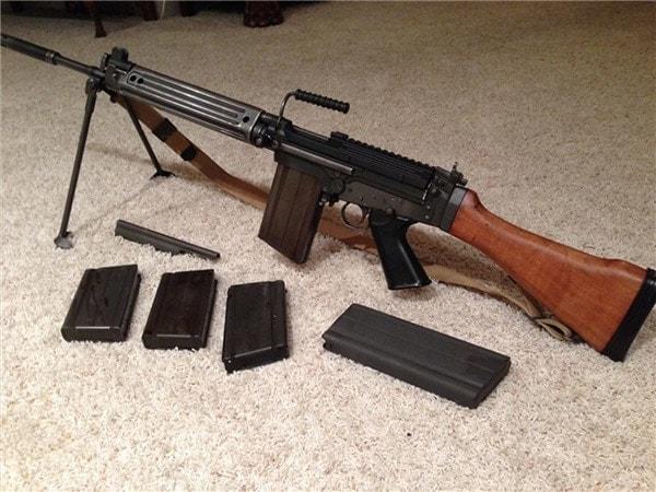 DSA SA58 kit gun