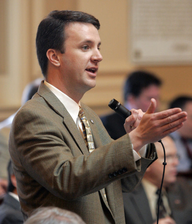 Del. Benjamin Cline, (R-24), was the sponsor of HB962, now the target of the Governor's veto. (Photo credit: The Daily Progress)