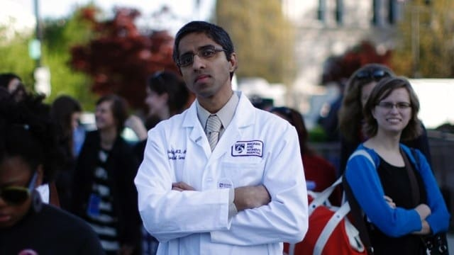 Dr. Vivek Murthy, Predisent Obama's current nomination for Surgeon General is an outspoken proponent of gun violence as a healthcare issue. (Photo credit: AP)