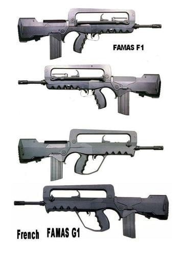 FAMAS f1 and g1