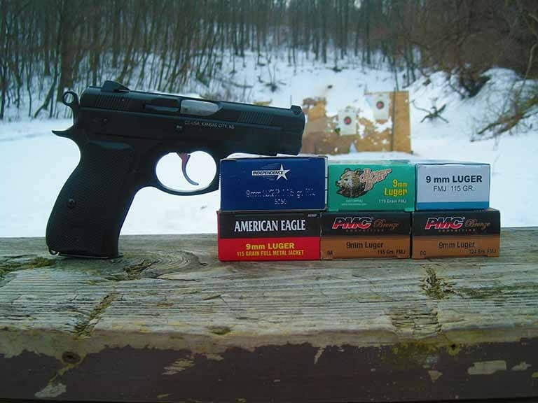 The voracious CZ ate every ammo type (Photo by: F. Borek)