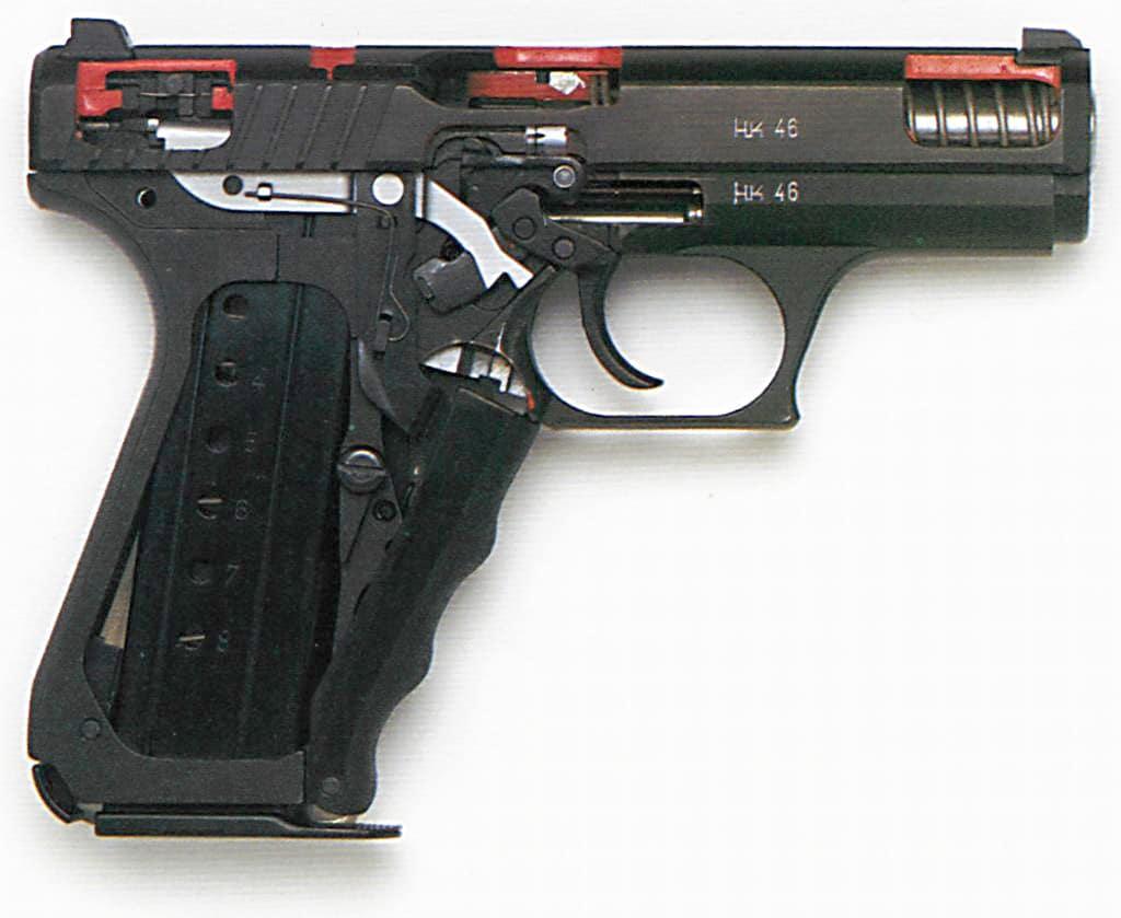 HK P7 stripped